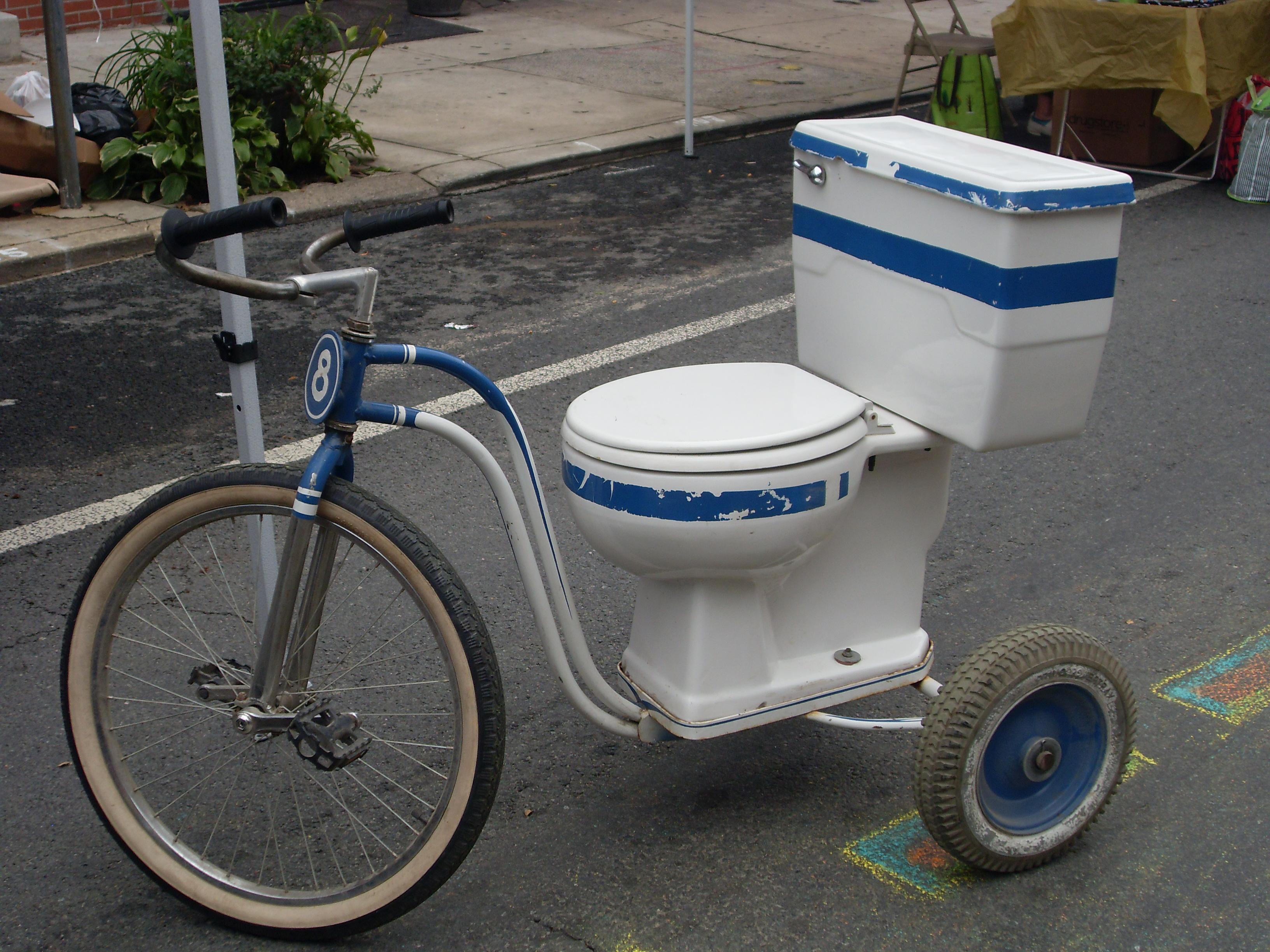 Taubheit Rennradsattel Toilettensitz